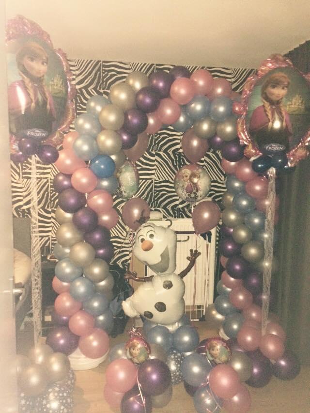 frozen decoratie feest